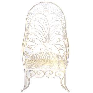 Calista Garden Chair White