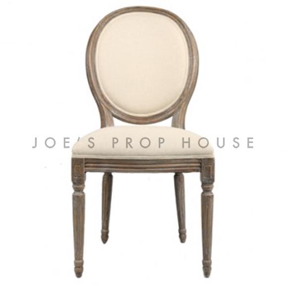 Reclaimed Linen Dining Chair