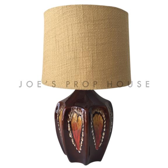 Maurice Retro Pottery Glaze Table Lamp