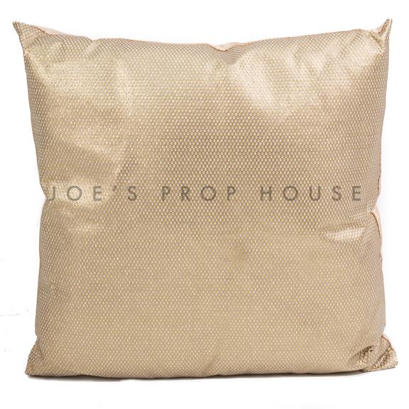 Gold Glitter Pillow