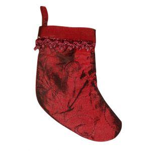 Red Velvet Christmas Stocking