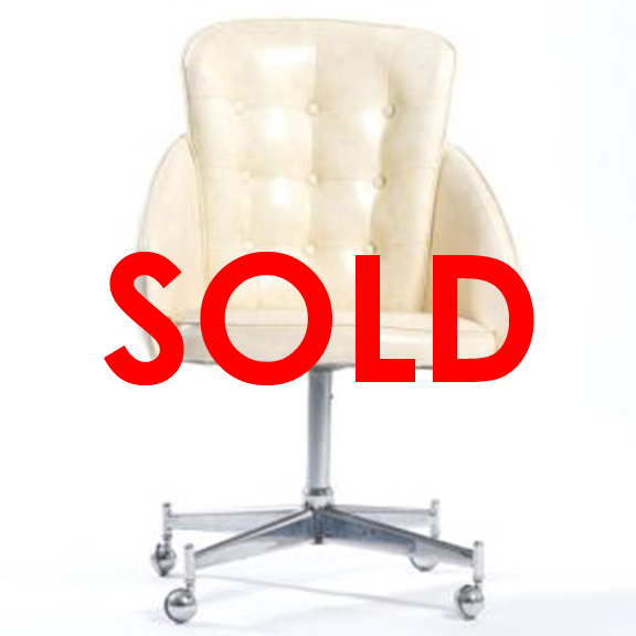 Rolland Tufted Dining Chair Ivory