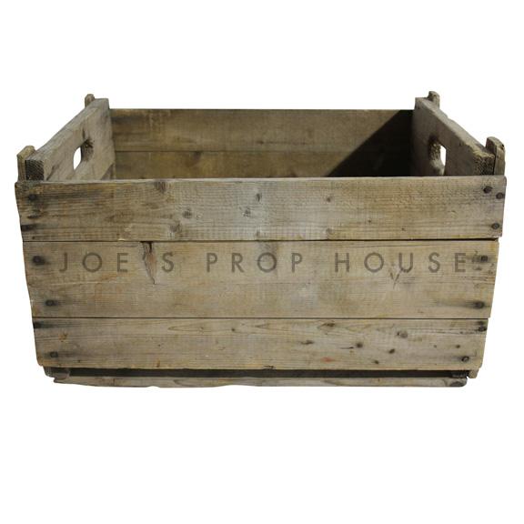 Vintage Wooden Crate Large
