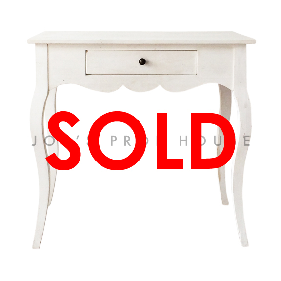 BUY ME / USED ITEM $55.00 Charlotte Desk White