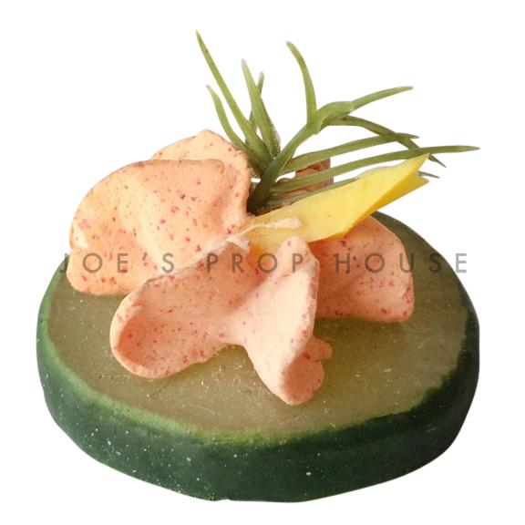 Salmon Spread Cucumber Slice Hors d'Oeuvre Food Prop