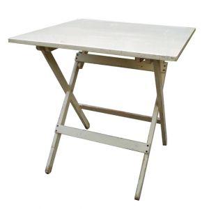 Darla Distressed Folding Table