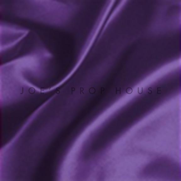 Purple Satin Draping