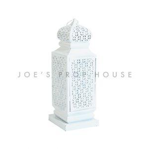 Small Taj Lantern White