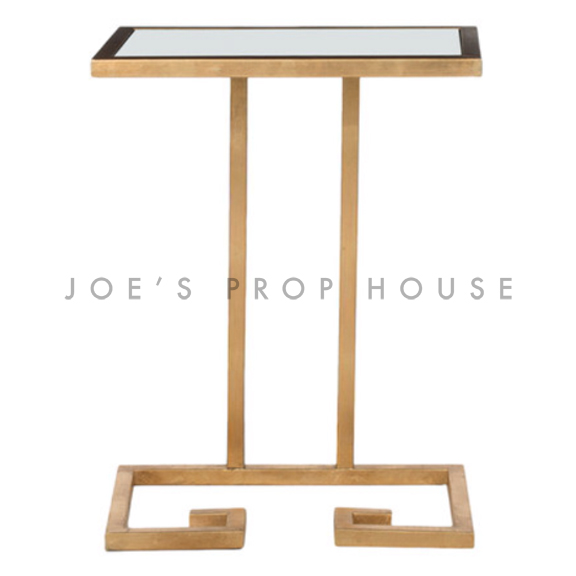 Hollywood End Table White
