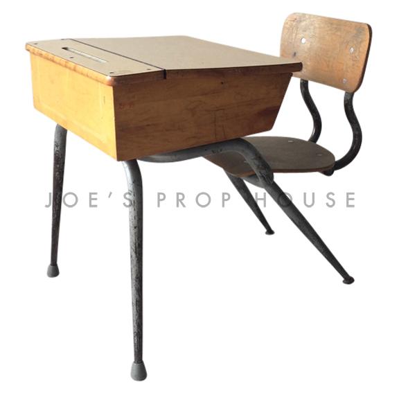 Connor Vintage Student Desk w/storage