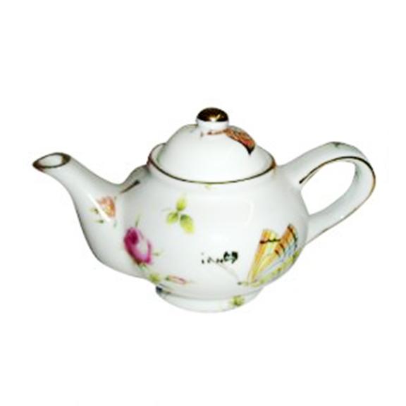 Mini Porcelain Butterfly Teapot