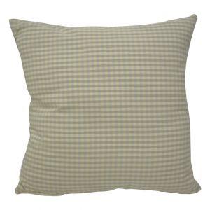 Blue & Beige Checkered Pillow