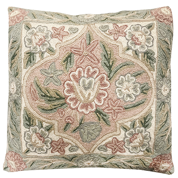 Floral Tapistry Pillow