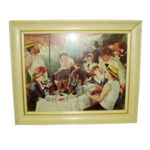 Reproduction Luncheon of the Boating Party Wall Frame