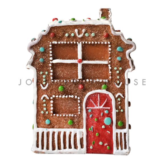 Red Door Gingerbread House