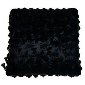 Black Pillow w/ tassels