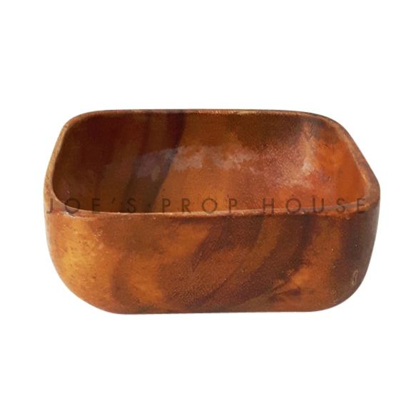 Carolina Square Acadia Wood Bowl