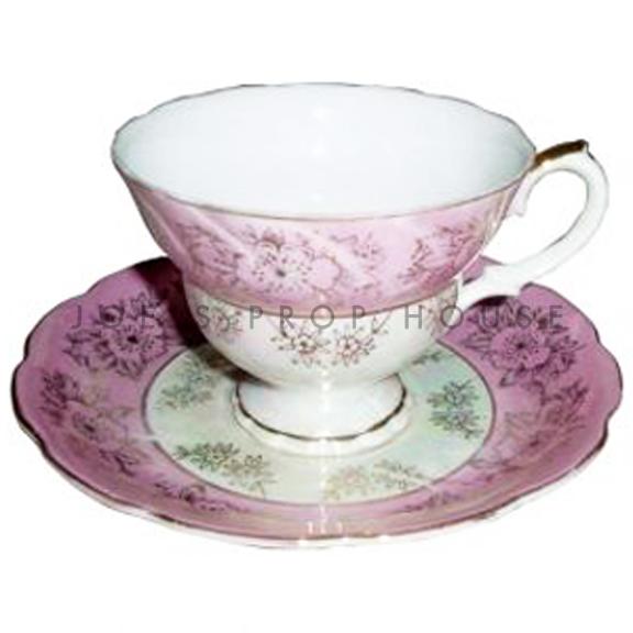 Pamela Floral Teacup and Saucer