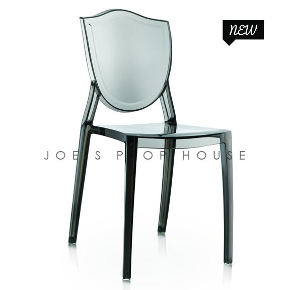Jules Dining Chair Smokey Black