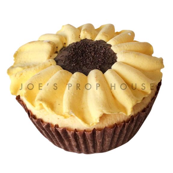 Yellow Daisy Cupcake Dessert Prop