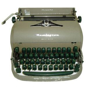 Remington Manual Typewriter Grey