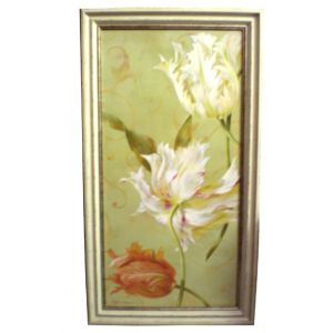 Floral Wall Art Frame W24in x H43in