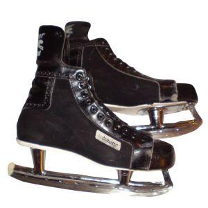 BAUER Mens Hockey Skates Black