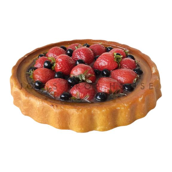 Strawberry Blueberry Tart