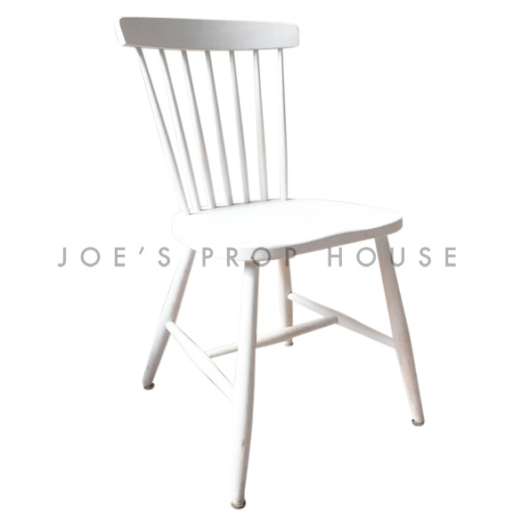 Elsa Spindle Chair White
