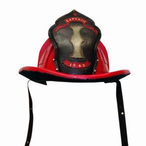 Fireman Helmet Red