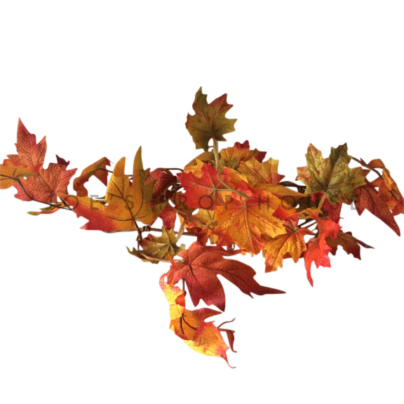 BUY ME / USED ITEM $5.99 each Artificial Autumn Leaf Garland