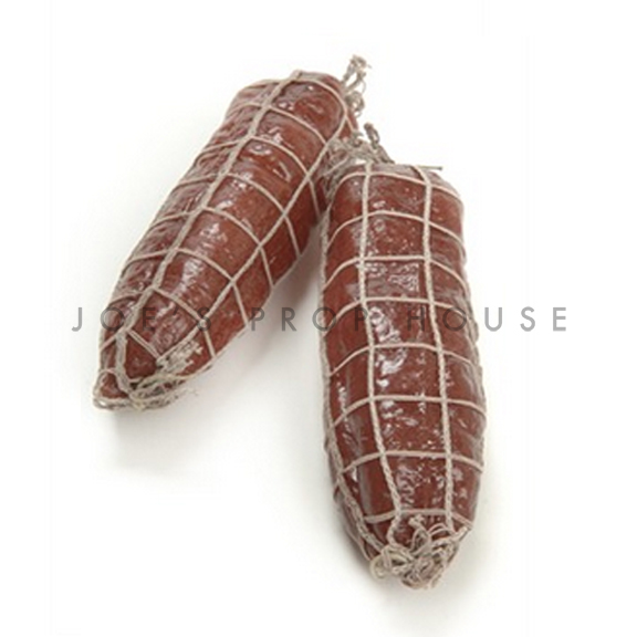 Artificial Red Salami w/Net SMALL