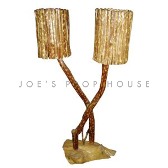Eleora Hand Carved Floor Lamp