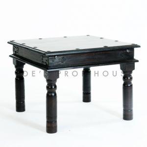 Square Teak End Table