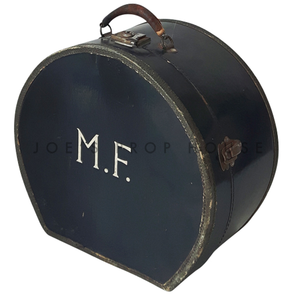MF Monogram Black Hat Carry Case