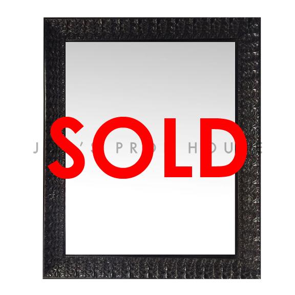BUY ME / USED ITEM $59.99 each Anabelle WALL Mirror Black  W29in x H35.5in