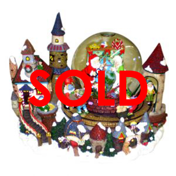 Santas Workshop Snow Globe