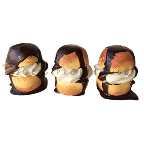 Profiteroles Puff Pastry Trio