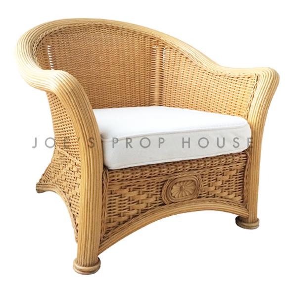 Freida Wicker Chair w/Cushion