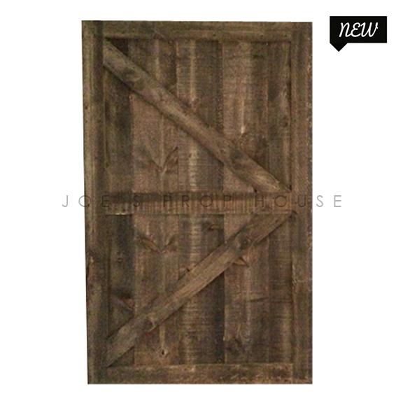 Self-Standing Barn Door Single W5ft x H8ft