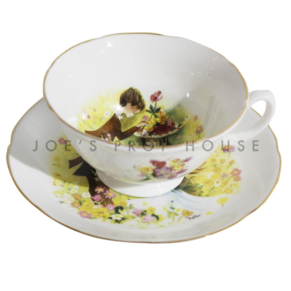Amore Teacup and Saucer