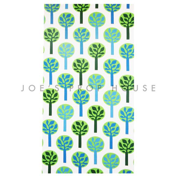 Retro Tree Panel 4ft x 8ft