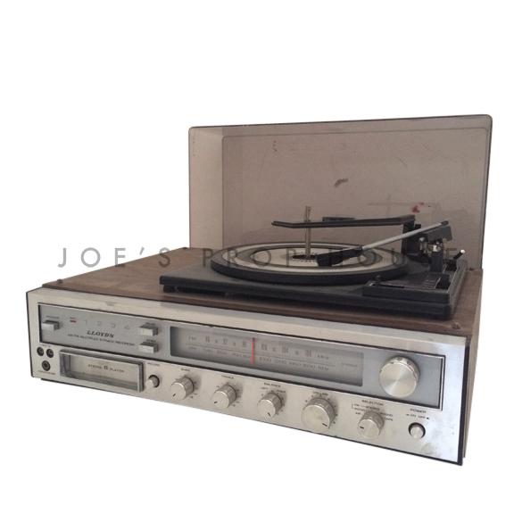 Vintage LLOYDS Radio 8-Track Record Player