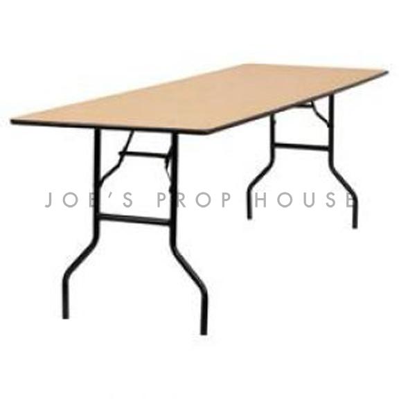 36in x 96in Rectangular Folding Dining Table
