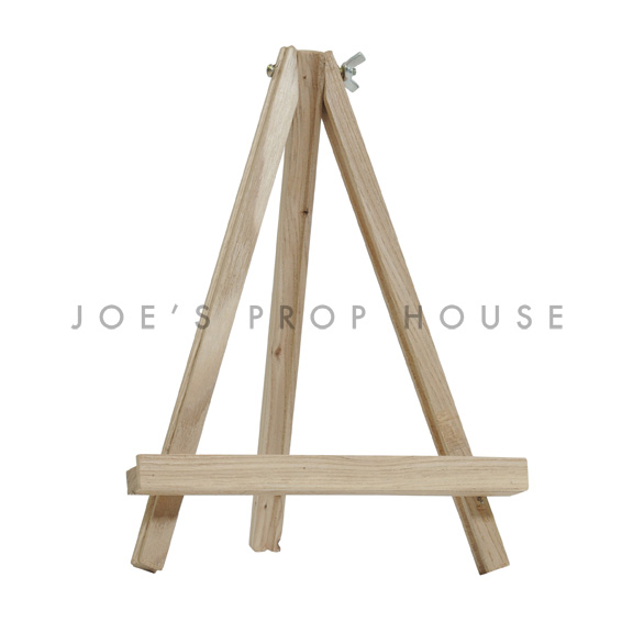 Mini Canvas Wooden Easel Stand Natural