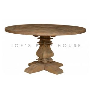Reclaimed Round Dining Table D60in x H30in