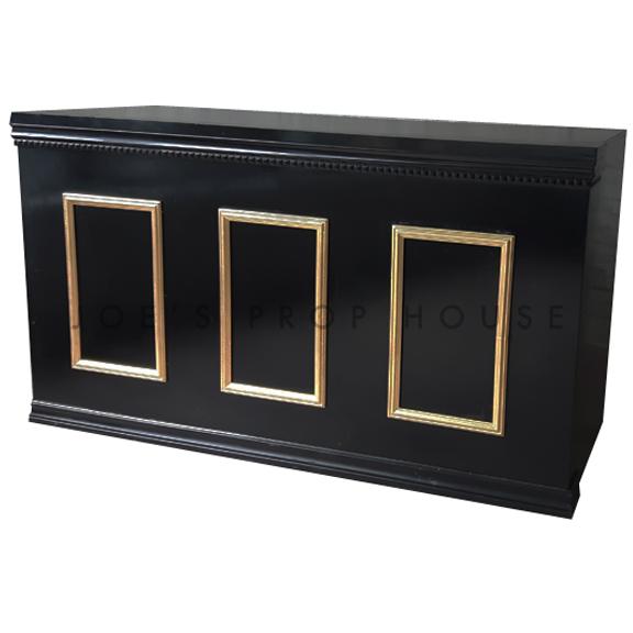 Tower Bar Black w/Gold Molding L6ft