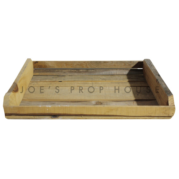 Wooden Vegetable Crate Natural