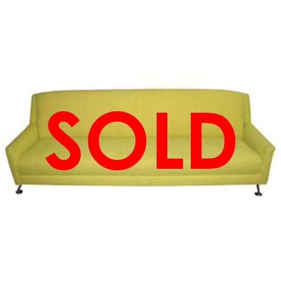BUY ME / USED ITEM Yellow Sofa