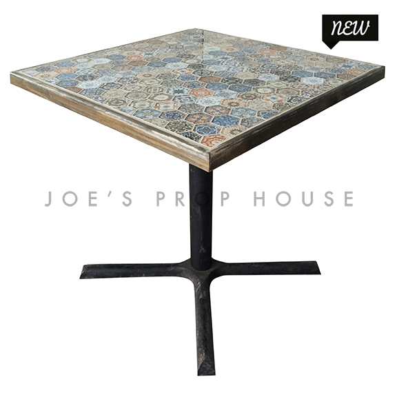 Mosaic Square Cocktail Table